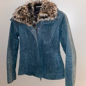 Danier Genuine Pig Leather Winter Jacket